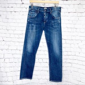 [Citizens of Humanity] Button Fly Boyfriend Jeans